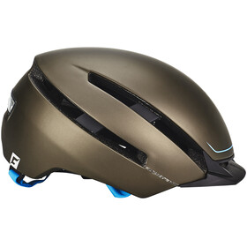 Cratoni C-Loom Helmet brown-blue rubber